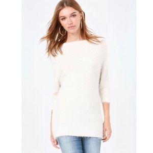 ⭐️ Bebe Off-shoulder Sweater & scarf